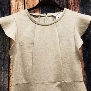 BCBGeneration Gray Midi Dress